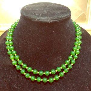 Jewelry - Long Nephrite Jade Necklace